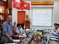 """Hội thảo Khoa học """"Trách nhiệm giải trình trong tổ chức và hoạt động của các cơ quan hành chính Nhà nước ở Việt Nam: Những vấn đề lý luận, thực tiễn"""""""