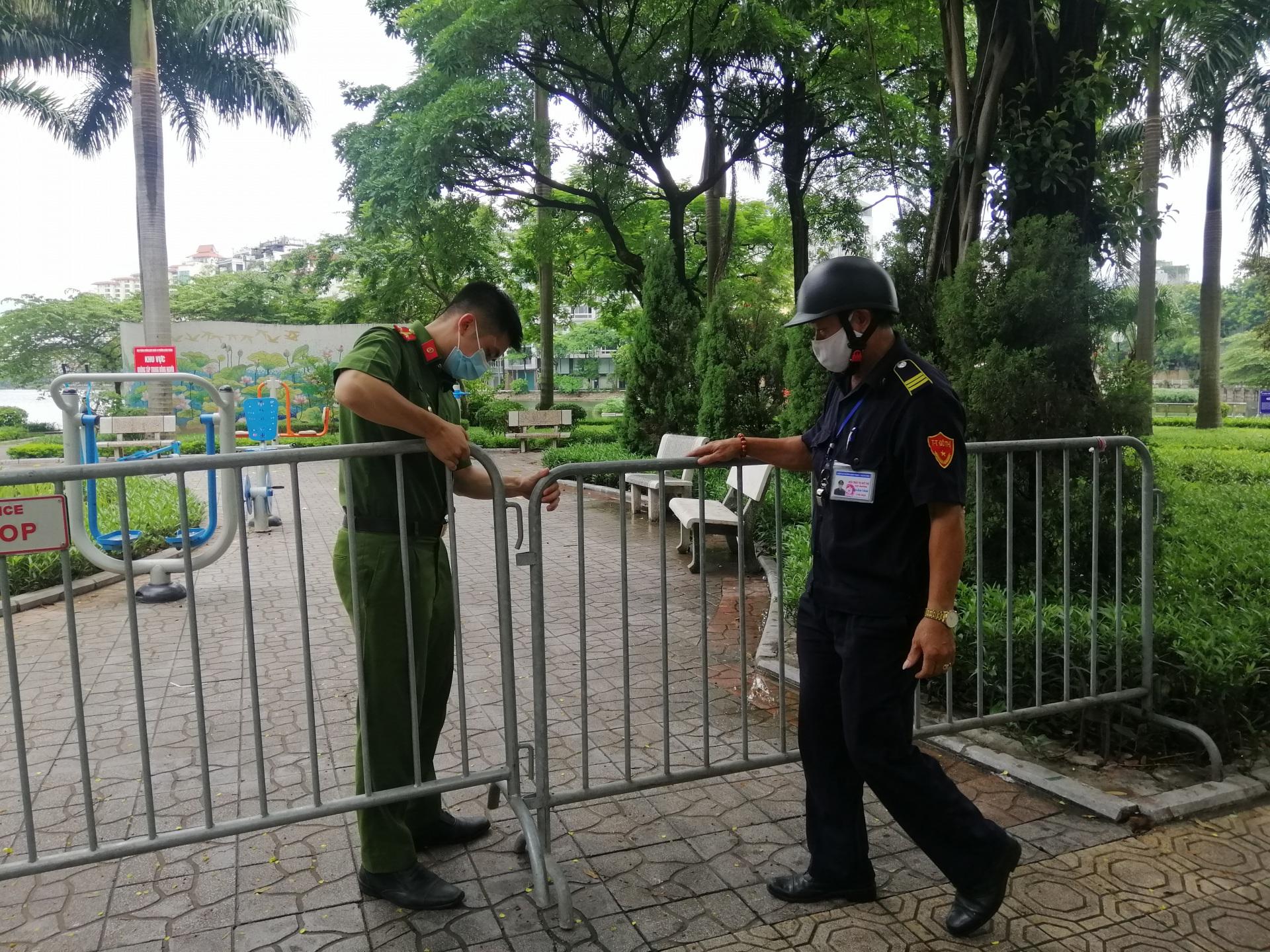 Thành phố Hà Nội: Quyết tâm giữ vững an toàn, bình yên của người dân đảm bảo kiểm soát tình hình dịch bệnh