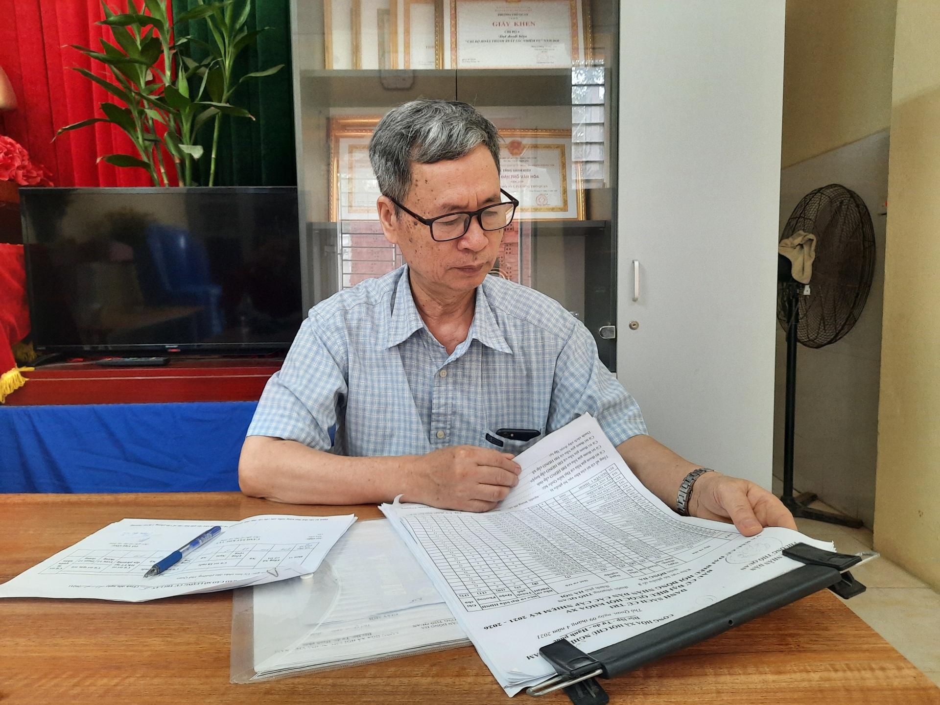 UBND phường Thổ Quan - Đống Đa: Làm tốt công tác chuẩn bị bầu cử ĐBQH khóa XV và HĐND các cấp