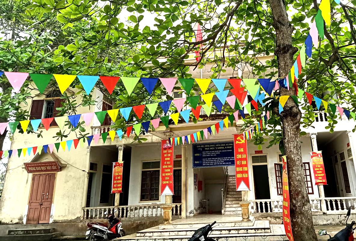 Yên Thành – Nghệ An: Xã Phú Thành vững bước đi lên
