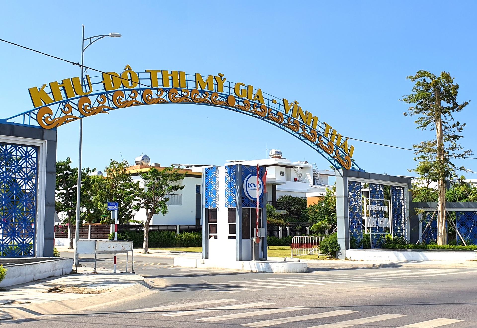 """Nha Trang - Khánh Hòa Một phần """"Dự án Khu đô thị Mỹ Gia"""" và Công ty cổ phần phát triển đô thị Vĩnh Thái tiếp tục bị kê biên tài sản"""