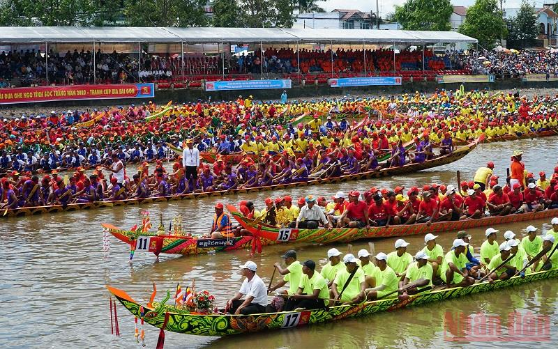 Không tổ chức Lễ hội Oóc Om Bóc - đua ghe Ngo tỉnh Sóc Trăng năm 2021