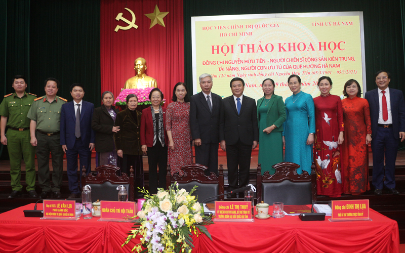 Đồng chí Nguyễn Hữu Tiến - Người con ưu tú của quê hương Hà Nam