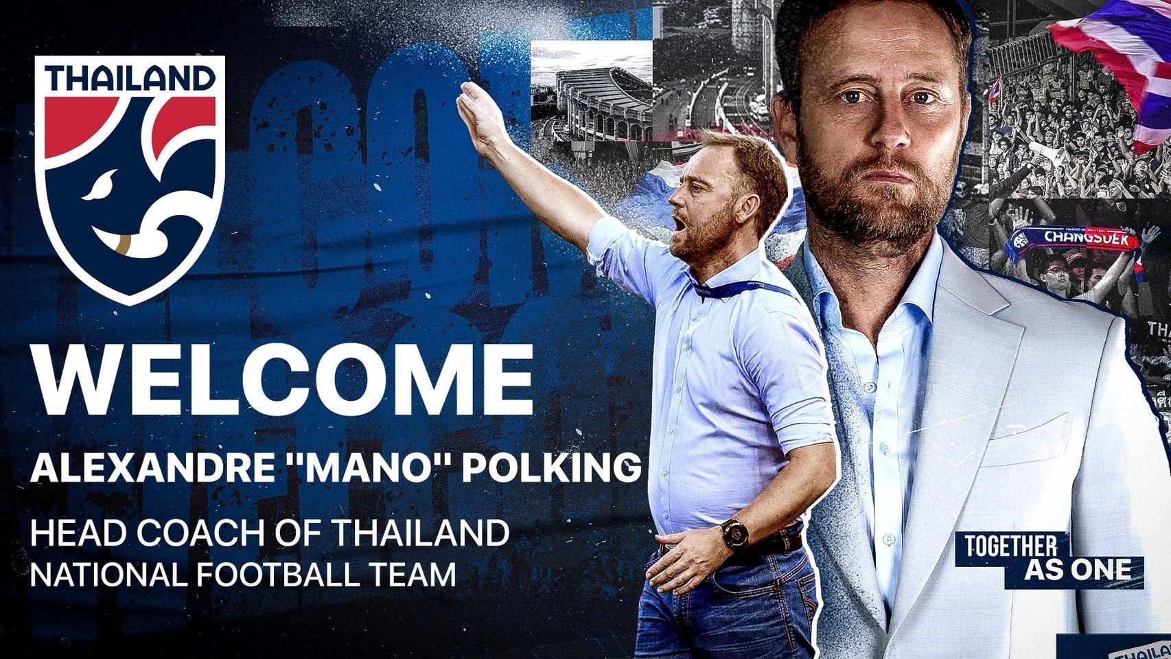 Đội tuyển Thái Lan chính thức có huấn luyện viên mới