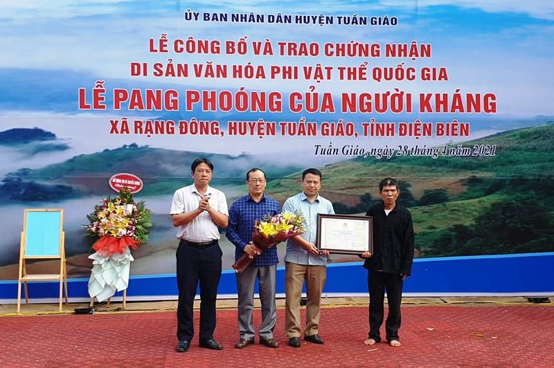 Lễ Pang Phoóng là Di sản văn hóa phi vật thể quốc gia